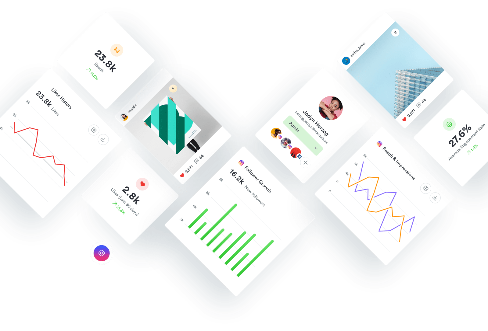 Iconosquare - Instagram & Facebook Analytics and Management